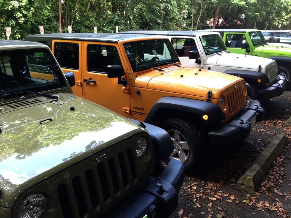 Delightful Jeeps VI Jeep Rentals In Saint Thomas