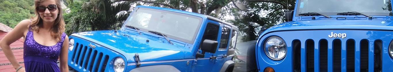 rent Jeep Wrangler Saint Thomas US Virgin Islands